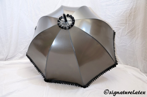Latex Umbrella with frill